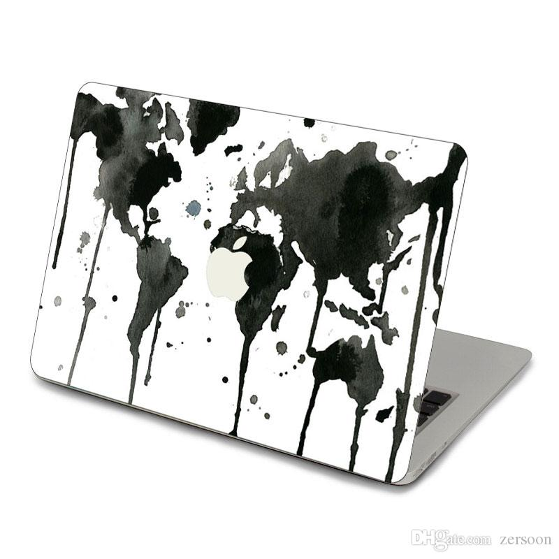 Map of the world laptop sticker map of the world laptop sticker ink painting world map top vinyl front cover laptop sticker gumiabroncs Choice Image