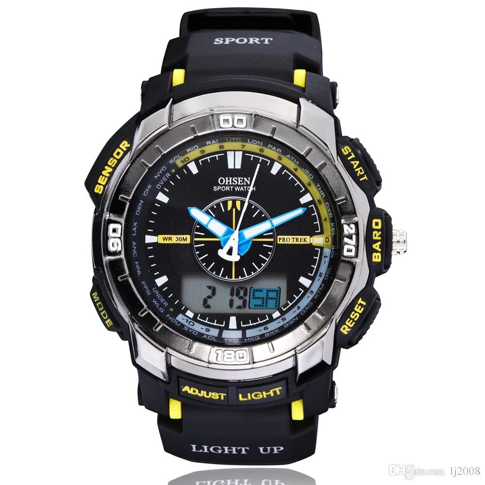 original ohsen new designer sport wristwatch 30m