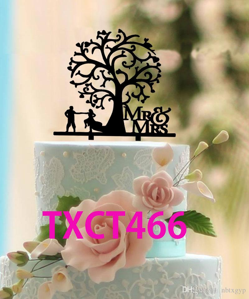 Rustic Wedding Cake Topper Mr And Mrs Cake Topper Silhouette