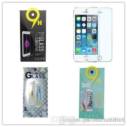 Sony xperia m5 Tempered Glass Film iPhone 6 plus 6s 6plus 5 5s SE s6 s7 s5 note 4 3 2 J1 J3 J5 7J E5 E7 G530 LG HTC Retailbox