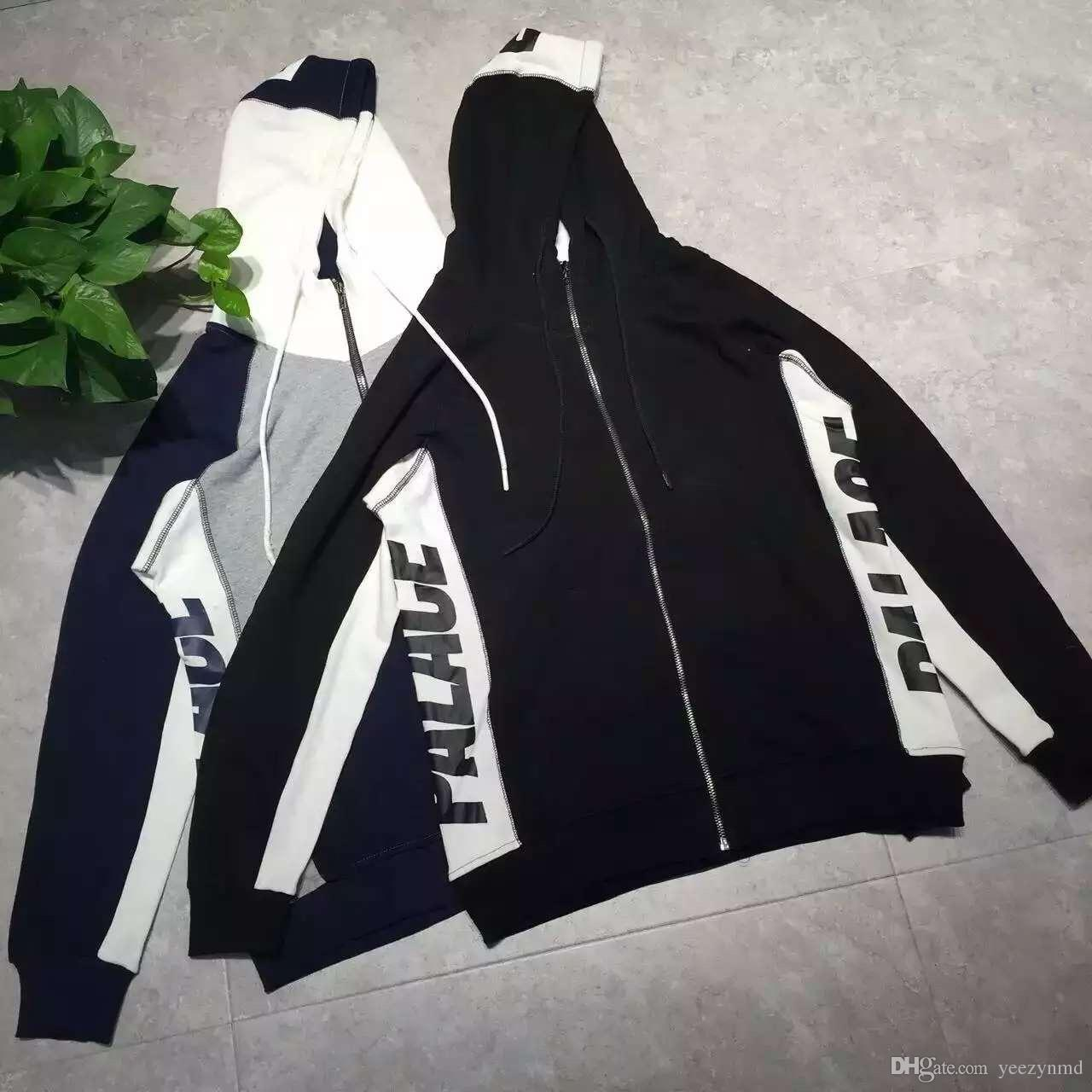 Foison Palace Hoodie Fashion Zip Design Vertical Tri