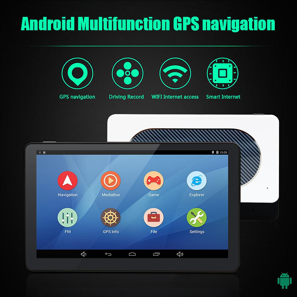 Inch Car Gps Navigation Android   Quad Core Wififm Tablet Pc Truck