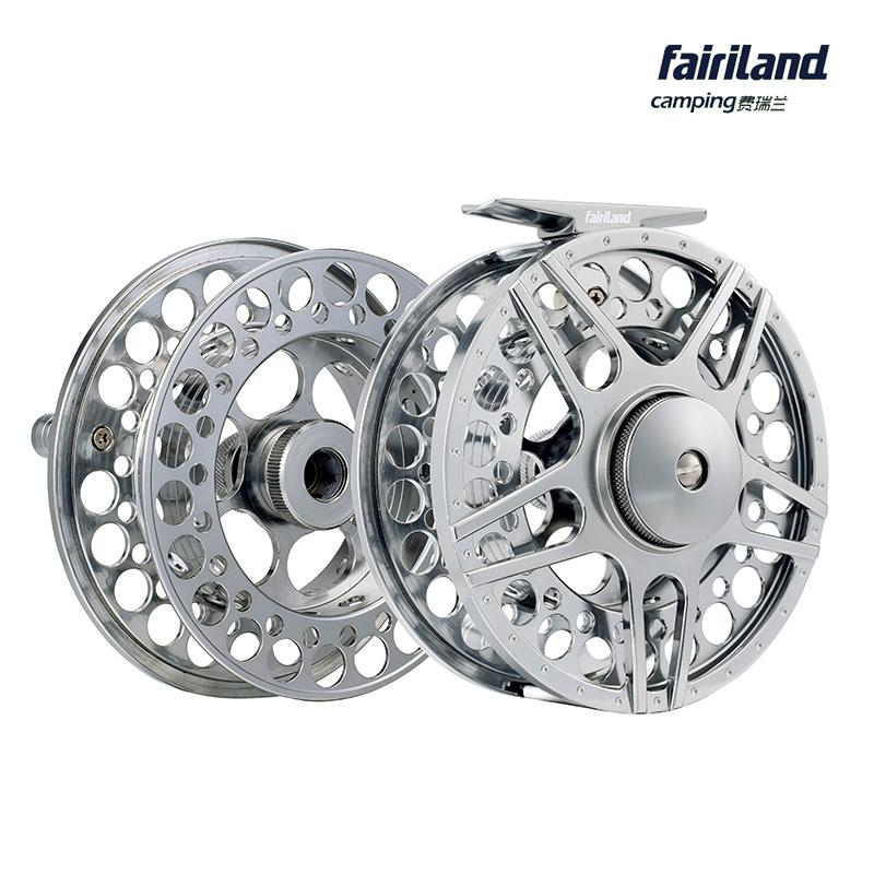 fly fishing reel set 70mm 80mm 90mm 100mm fly reel with original, Fly Fishing Bait
