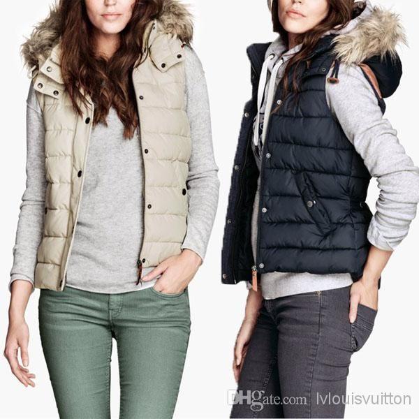 Womens Vest Jacket S6YiF2