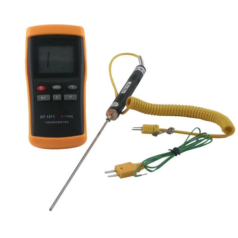 Wire Measuring Device : Dt measuring device contact digital thermometer k
