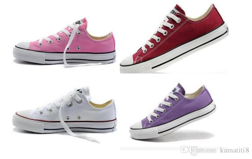 most popular canvas shoes low high style classic canvas