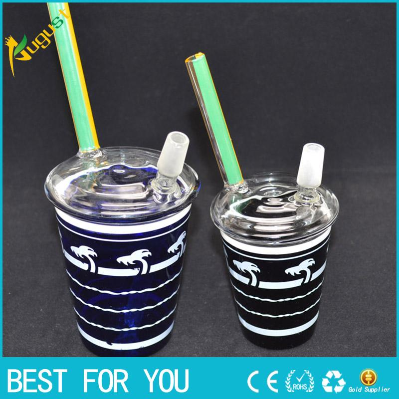 Top Cup Tobacco : Best quality mcdonald cup starbuck glass water pipe