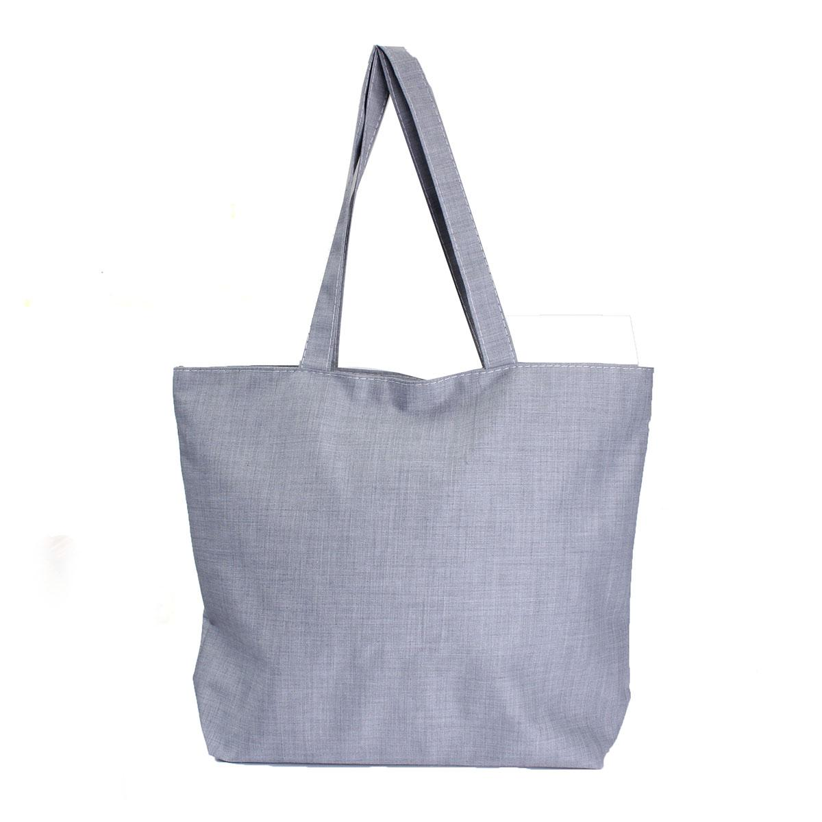 Wholesale Women Canvas Bags Zipper Eco Versatile Shoulder Sack ...