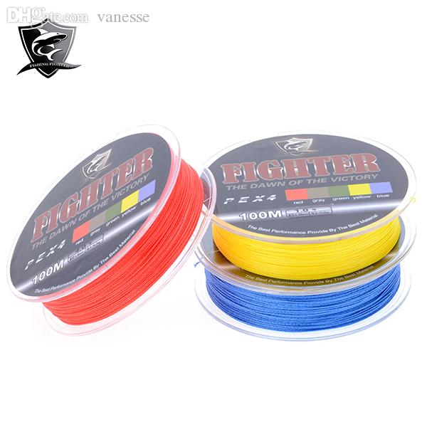 Wholesale cheapest 100m multifilament pe line braided for Cheap braided fishing line