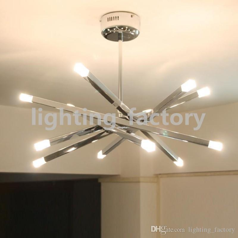 Modern Ceiling lights Fixture Semi-Flush Mount type Black White Colors  Cloth Shade 3, 5 Bulbs with Iron for Livingroom Bedroom Freeshipping - Best Modern Ceiling Lights Fixture Semi Flush Mount Type Black