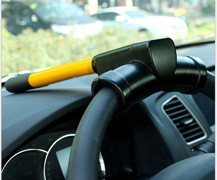 2017 Universal T Style Auto Security Steering Wheel Lock Car Alarm