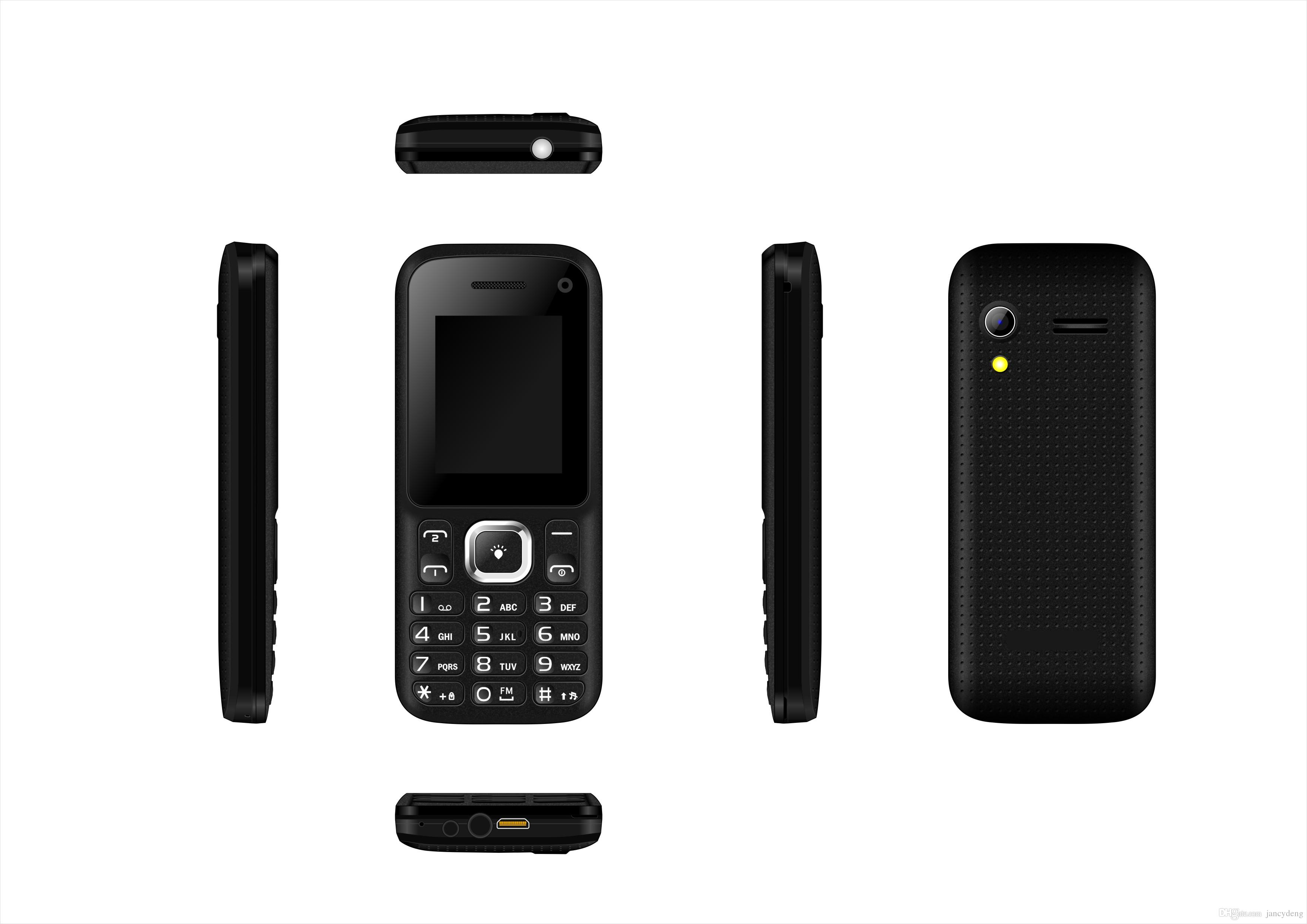 Camera Latest Low Price Android Phones 1 8 inch spreadtrum 6531d 2g feature phone 3232mb dual sim external 32gb 0 08mp