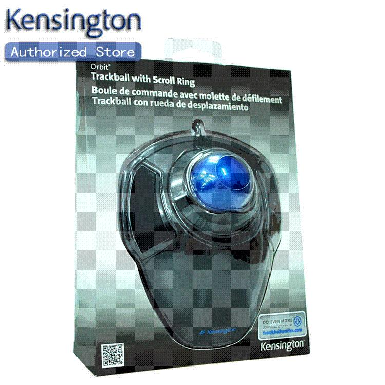 how to use kensington orbit optical trackball