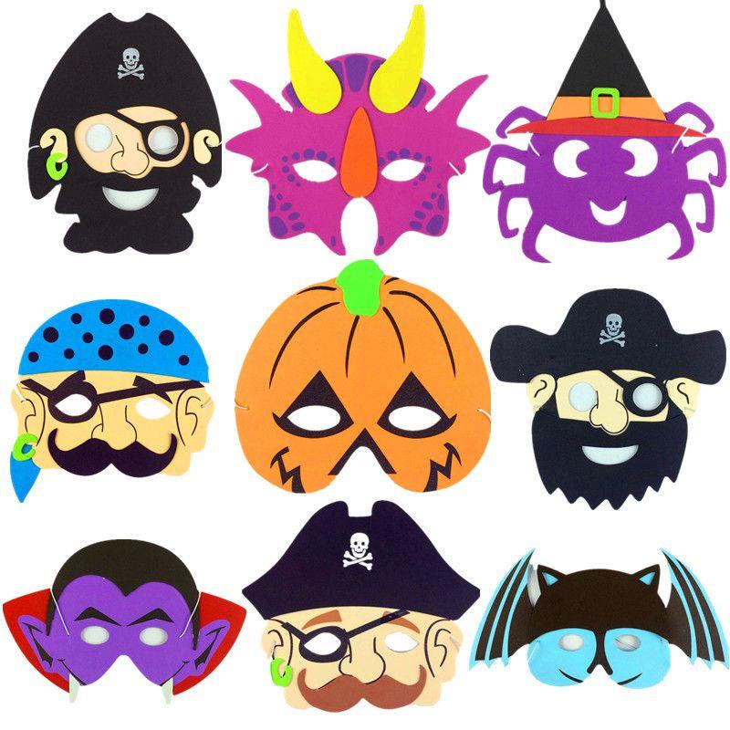 halloween eva cartoon mask ghost festival pumpkin pirate ghost skull cartoon masquerade dress for kids ne781 pumpkin mask halloween mask ghost mask online