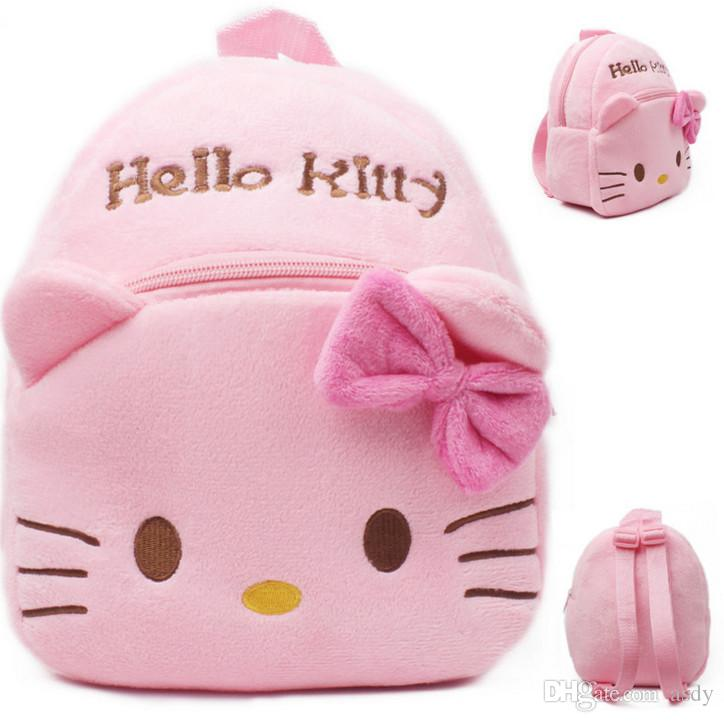 Children Baby Girl Cute Little Bag Small Backpack Plush Toy Bags ...