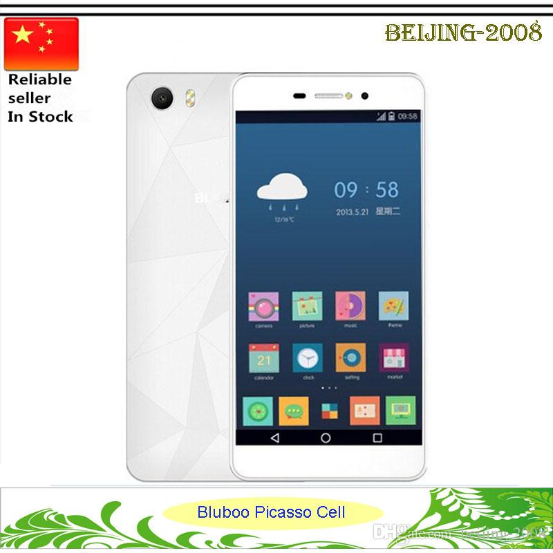 Bluboo Picasso Mobile Phone Android 5.1 5.0 pouces MTK6580 Quad Core 1.3GHz 8MP