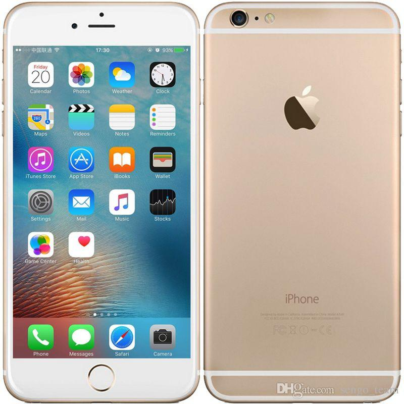 refurbished original apple iphone 6 plus unlocked mobilephone ios 8 dual core 5 5 inch 16gb 64gb. Black Bedroom Furniture Sets. Home Design Ideas