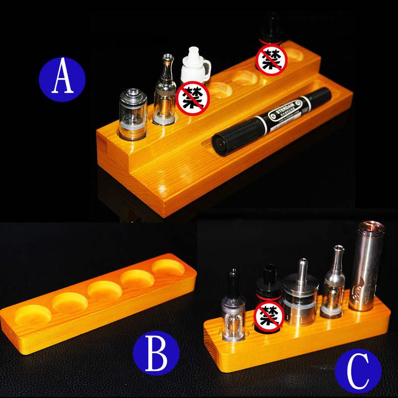 Vape Stand Designs : New wooden e cig standing display racks vape stand