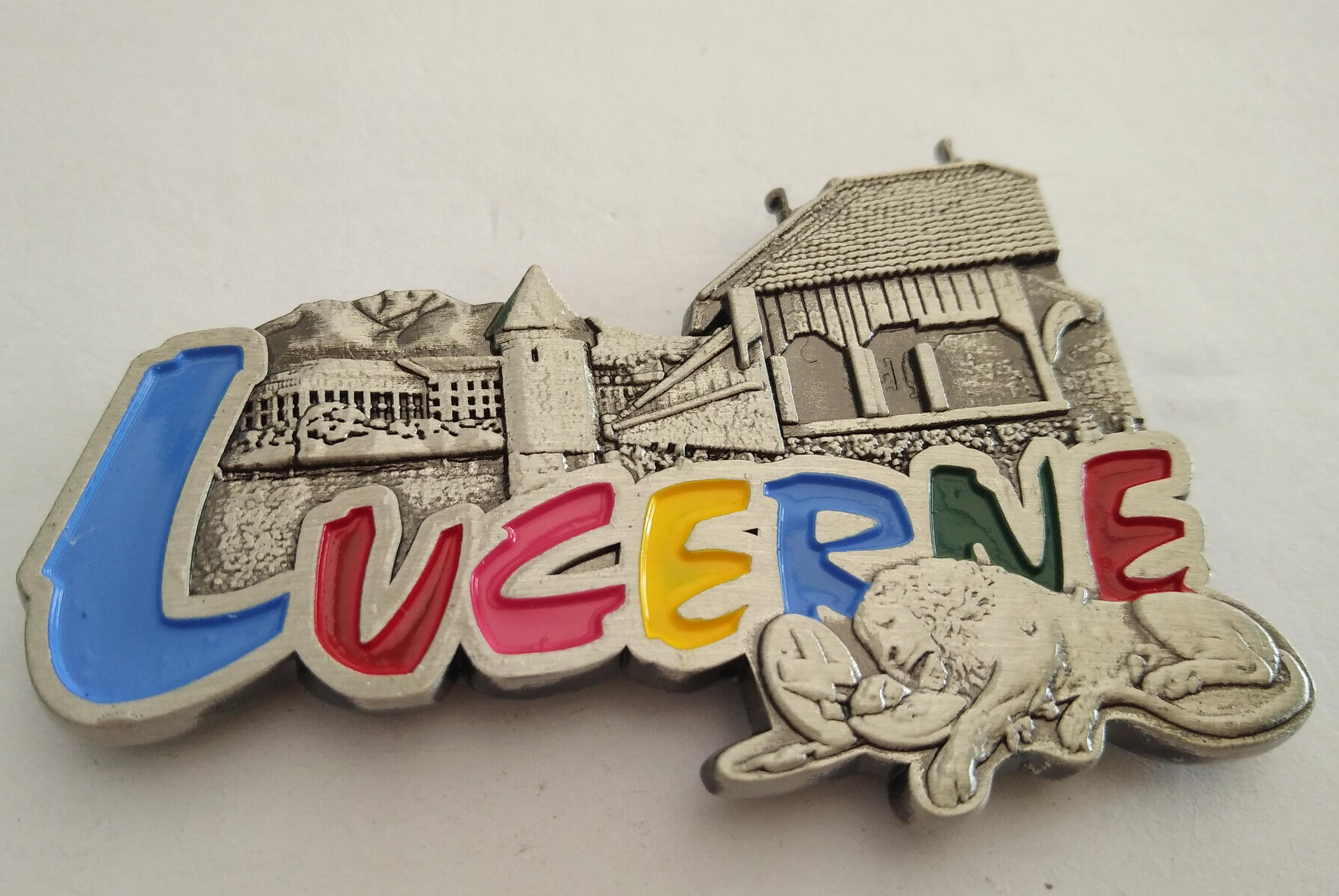 The New Factory :Customized Metal Fridge Magnet For Souvenir ...