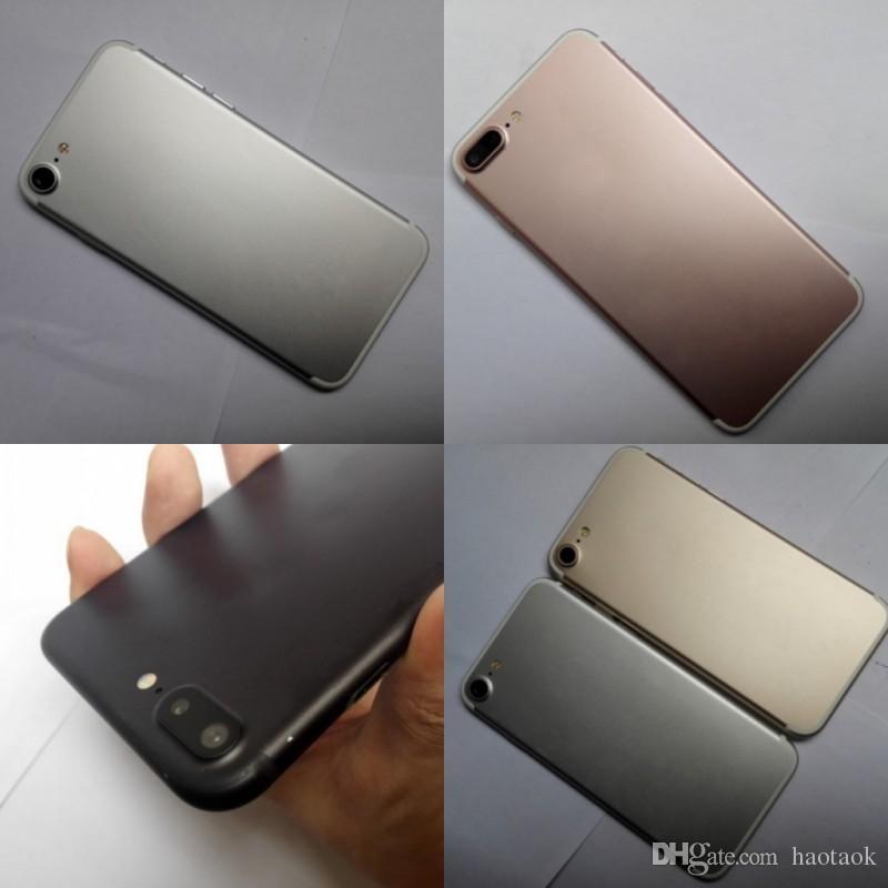DHL FREE i7 Plus Real 4G LTE fingerprint MTK6735 Quad core Goophone cellphone i7plus Android 6.0 Clone phone PK S7 edge i6 NOTE 7 3GB