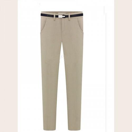 2017 Cheapest Pants New Fashion Big Yards Casual Feet Pants Beige ...