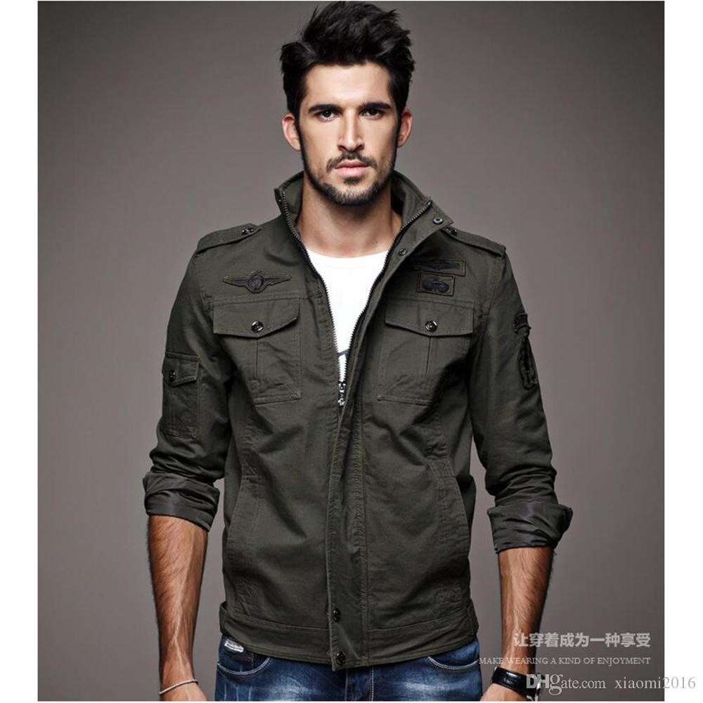 Mens jacket in winter