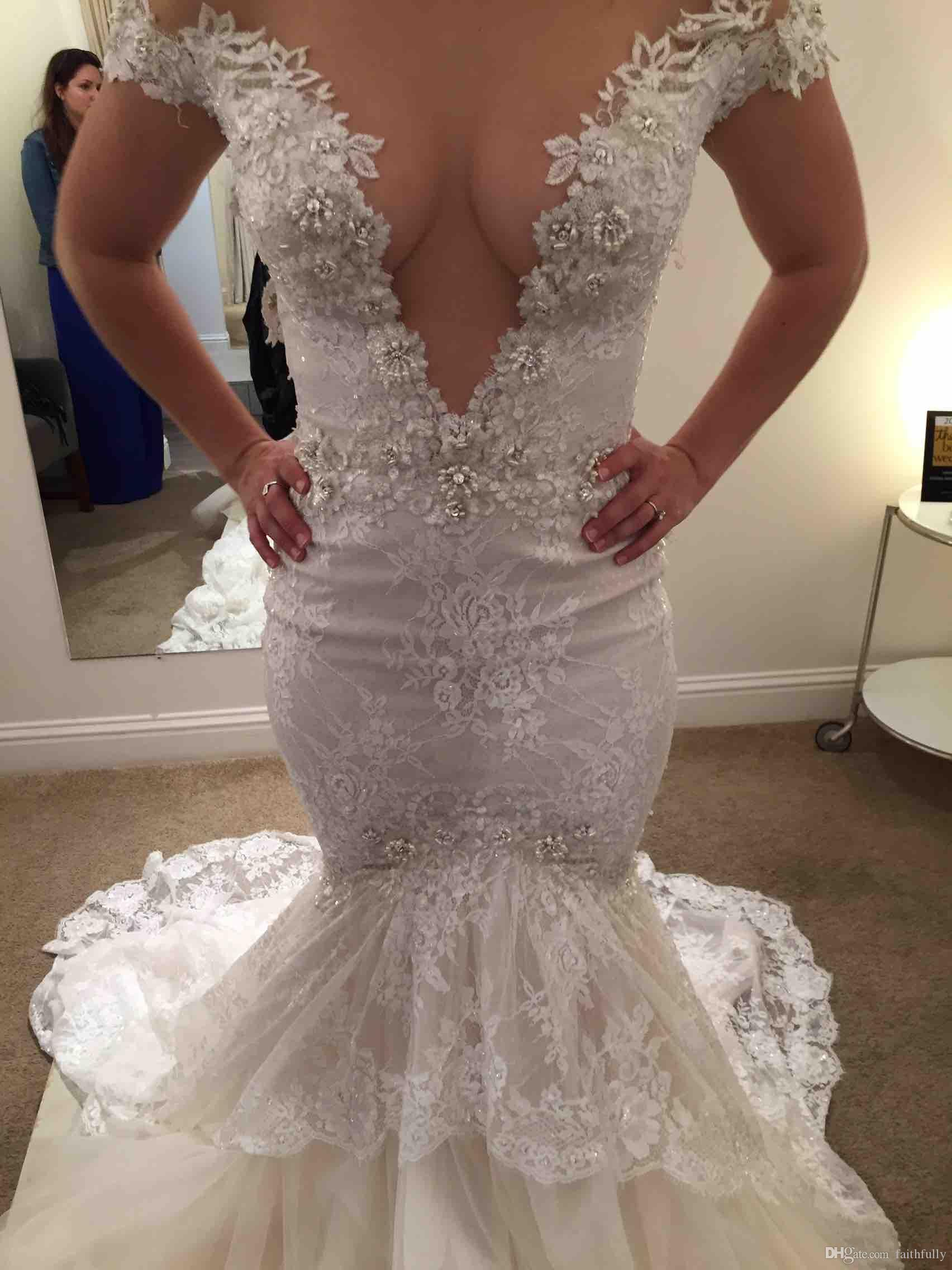 2017 y Best Selling Wedding Dresses Fall White Lace