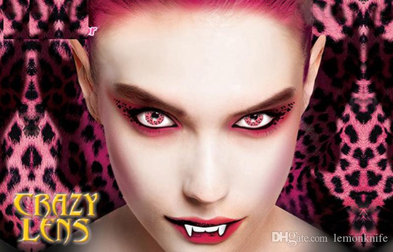 Crazy Halloween Contacts rinnegan light violet sclera contact lenses 1 pair See Larger Image