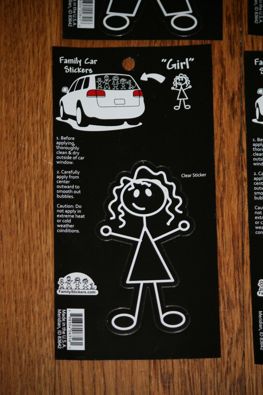 Design my car sticker -  10 Design Car Window Decal Stickers Custom My Family Car Sticker Stick Figure Clipart