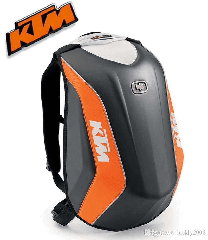 2016 New Locomotive Bag KTM Moto Racing Backpack Hard Shell ...