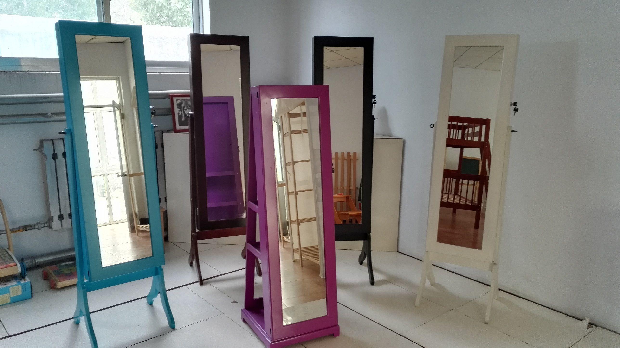 Mirror full length wall mounted