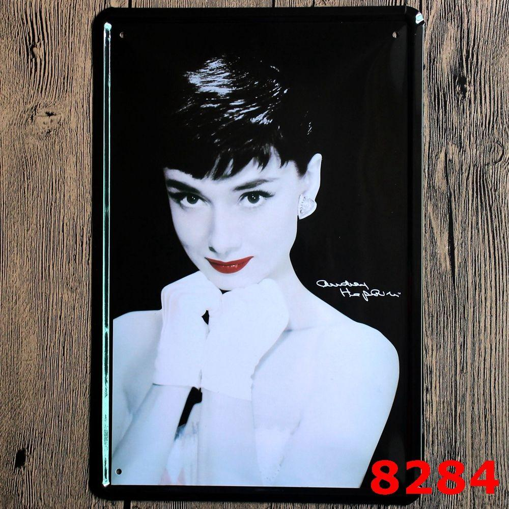 2017 sun86 audrey hepburn painting wall bar home art decor - Audrey hepburn cuadros ...