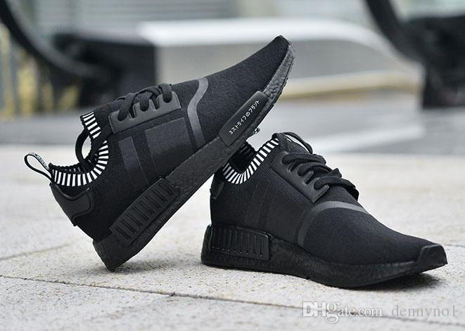 Adidas NMD R1 Originals Runner Black S79165 Mens Kicks Shoes
