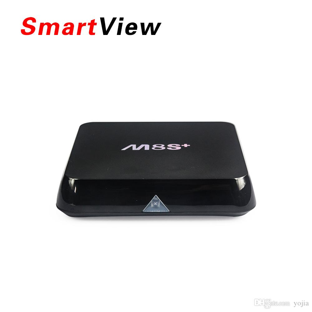 Meilleur M8S Plus Android TV Box Amlogic S812 Quad Core 2 Go / 8 Go Dual Wifi H.