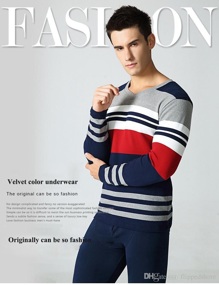 Wholesale Fashion Thin Thermal Underwear Plus Size Spandex Mixed ...