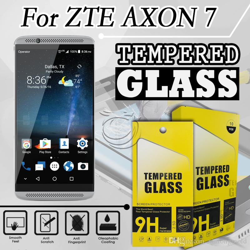 Zte axon 7 tempered glass