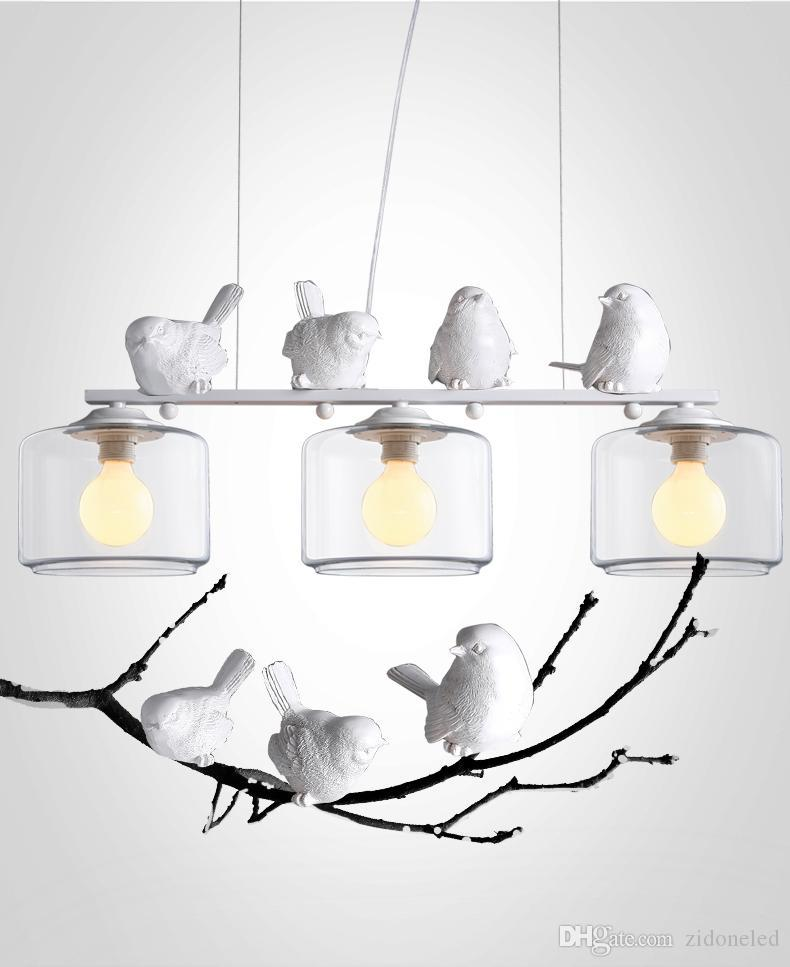 2016 New Arrivals Genuine Led Pendant Lights Vintage Bird