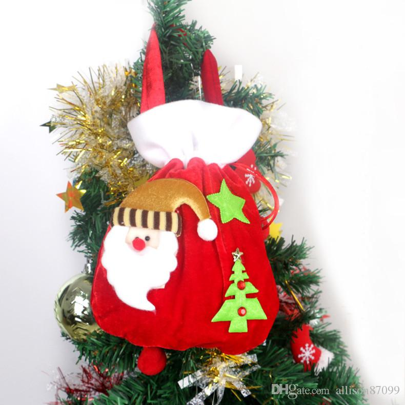 New christmas tree decorations christmas gifts bag baby for B m xmas decorations