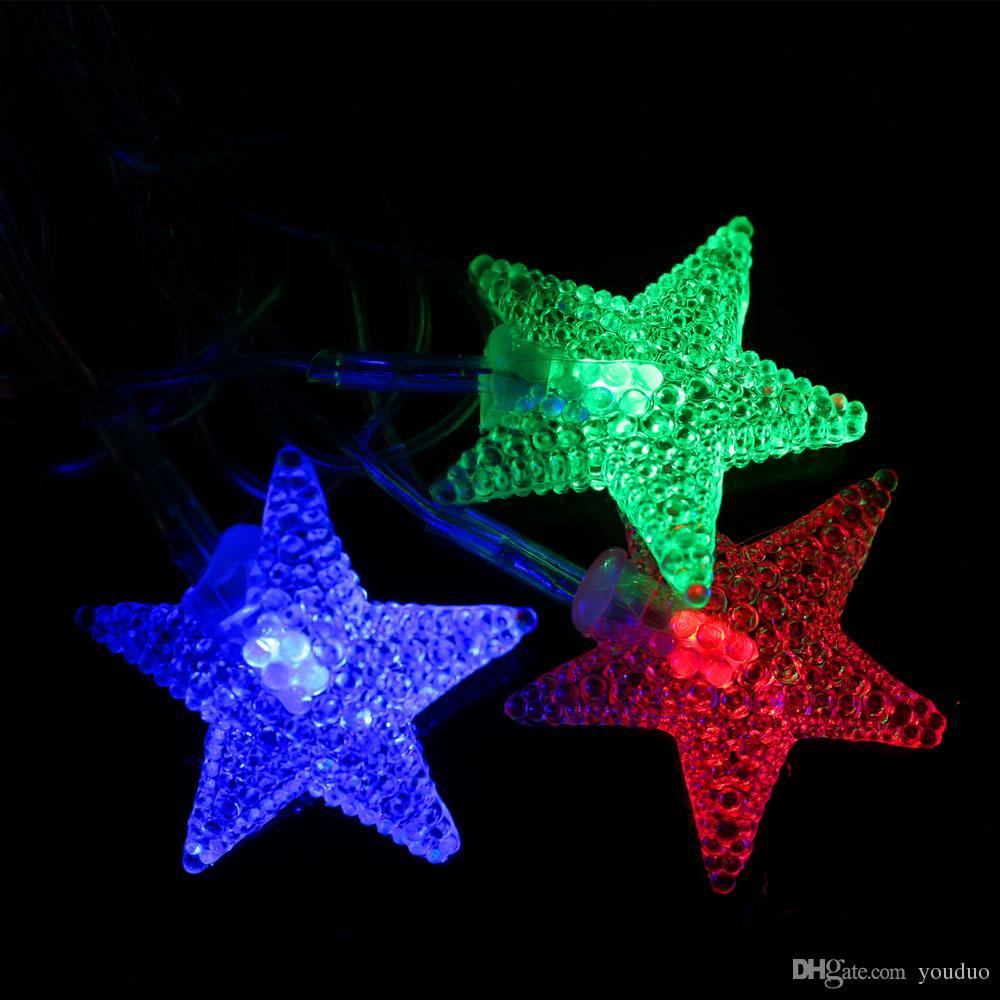 String Lights Stars : Led String Lights Stars 4m 20leds Led Patio String Lights Globe Lights String From Youduo, USD 3.12 ...