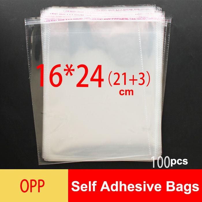 Plastic Bags with Adhesive Strip - Cello Bags