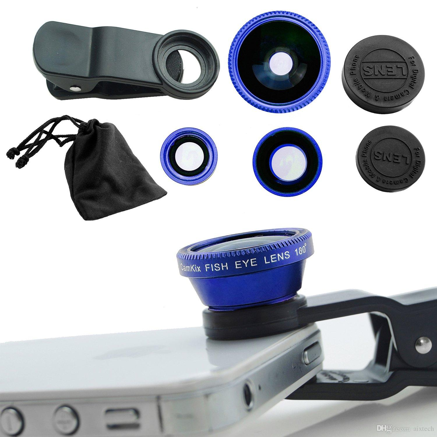 Camera Android Phone Camera Lens 2017 blue 3 in 1 cell phone camera lens kit for ios android 180 degree supreme