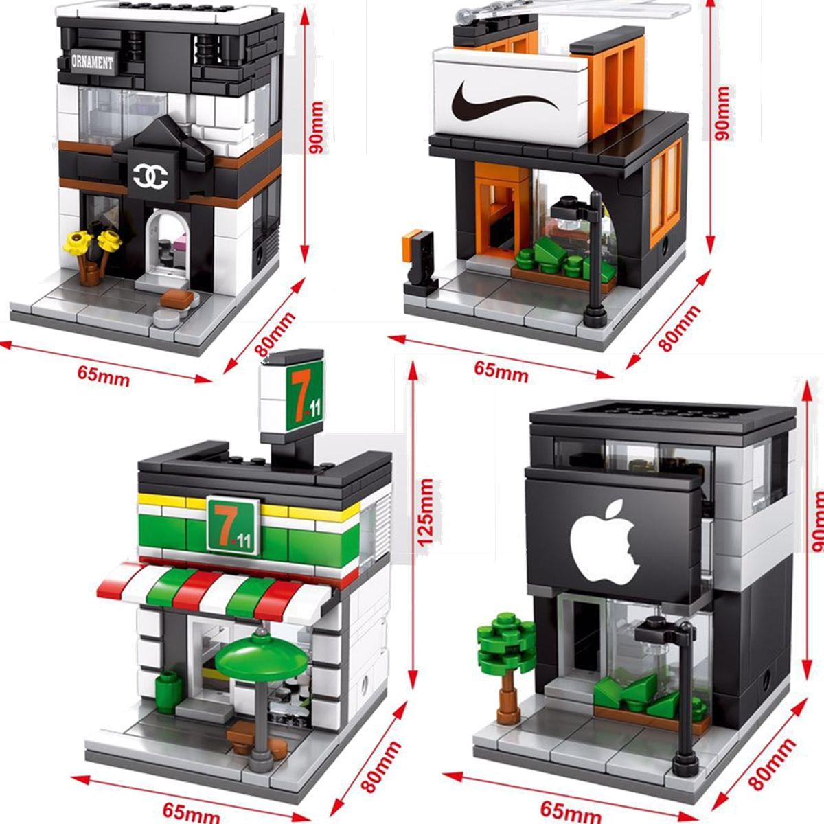 Building Kits Minifigure Blocks