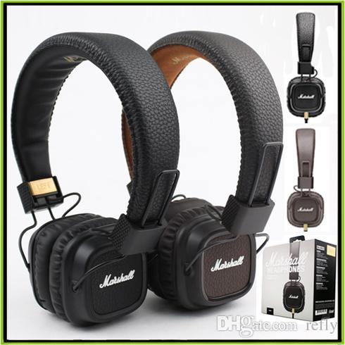 marshall major ii headphone wired headset with mic good bass dj hi fi headphones hifi earphones. Black Bedroom Furniture Sets. Home Design Ideas