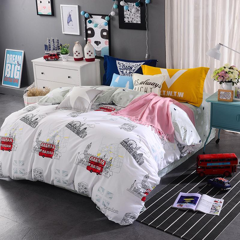 Winter Bedding Set Pillowcase Bed Cover Bed Spread