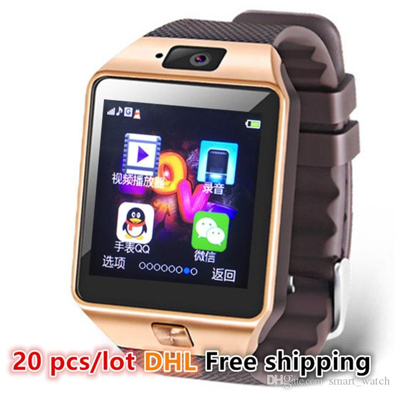 Wholesale Hot Cheap Bluetooth Smart Watch Phone Sim Camera ...
