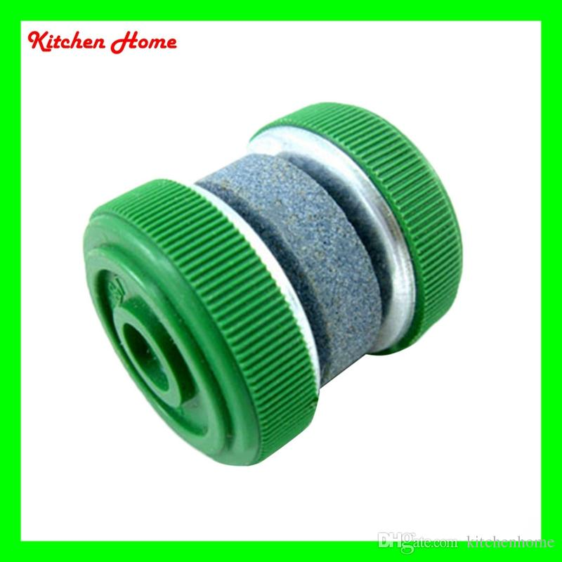 mini round kitchen knife sharpener stone abrader with two grinding