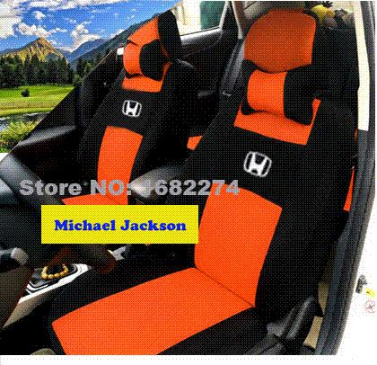Universal Car Seat Covers For Honda Civic Accord Cr V Xr V Civic Coupe Ridgeline Fit Black/Gray ...