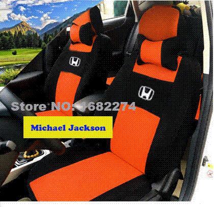universal car seat covers for honda civic accord cr v xr v civic coupe ridgeline fit black gray. Black Bedroom Furniture Sets. Home Design Ideas