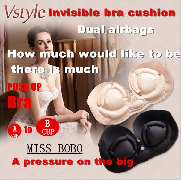 Miss Double Invisairpad Bra Sexy Push Up Aerated Bra Self Adhesive ...