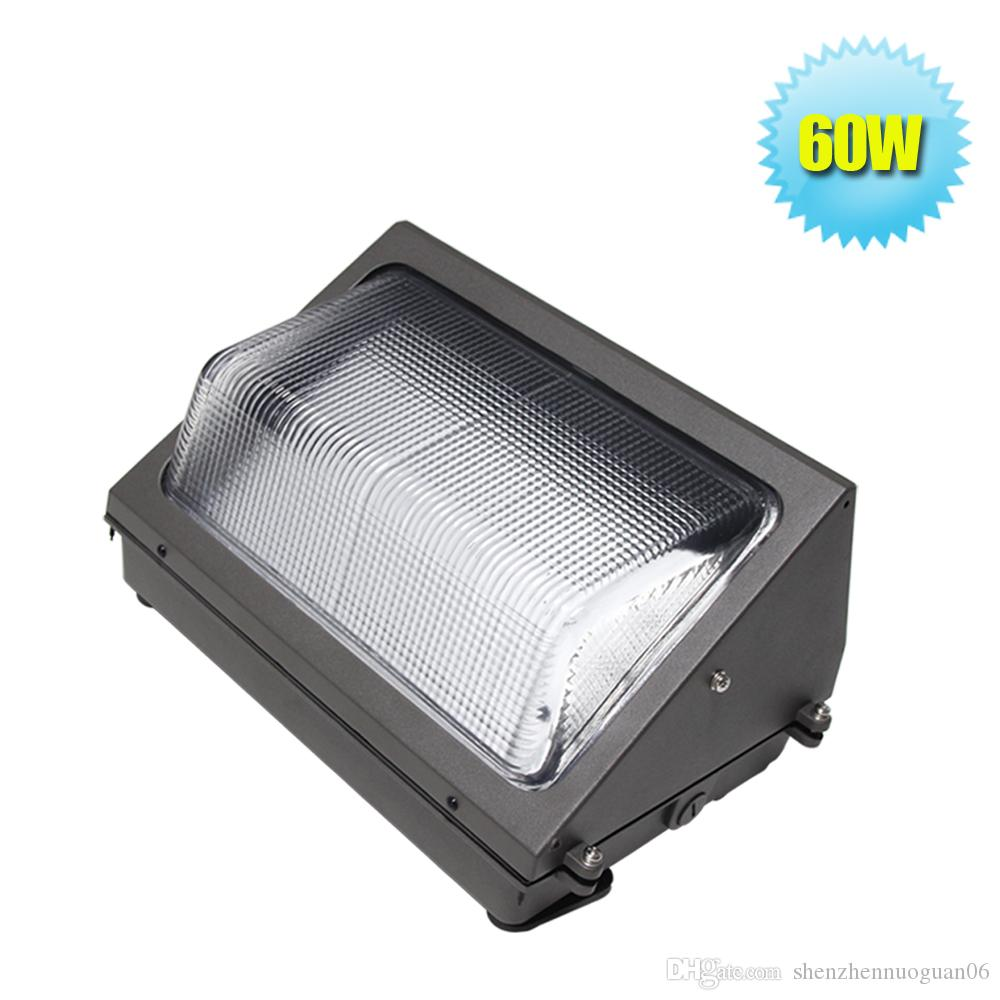 60w led wall pack fixture light 125w hpshid replacement 6500k cool white 5700lm waterproof and outdoor 5 years warranty 60w led wall pack light led flood - Led Wall Pack